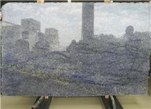 Brazil Blue Azul Bahia Granite Polished Slab Tiles