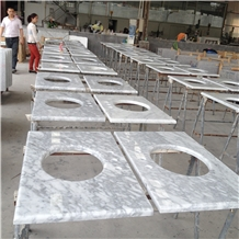 Carrara Marble Bathroom Countertops Vanity Tops