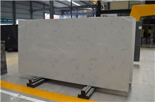 Carrara White Engineered Quartz Stone Walling Tile