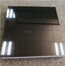 China Absolute Black Granite Tiles for Floor