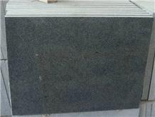 China Charcoal Sesame Black Impala Granite Tiles