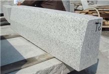 China G603 Grey Granite Exterior Walkway Kerbstone