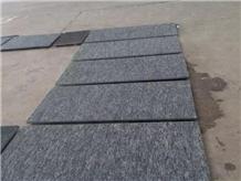 China G612 Olive Green Granite Polished Tiles