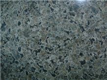 China Hebei Desert Green Granite Polished Tiles