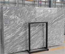 China Juparana Grey Granite Polished Big Slabs
