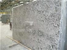 China New Bethel White Granite Polished Slabs