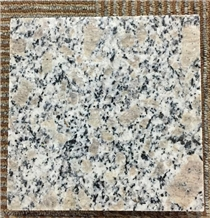 China Pearl Flower White G383 Granite Polished Slabs