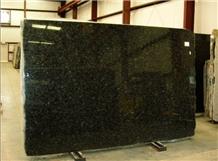 China Polished Gem Green Granite Slabs For Wall