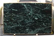 China Verde Alpi Marble Polished Construction Wall