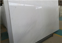China White Pearl Marble Polished Interior Slab