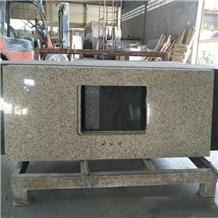 China Yellow Granite Vanity Tops, Countertops