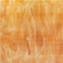 China Yellow Onyx Tiles Slabs for Decor