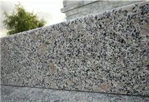 China Zhaoyuan Pearl Flower White Granite Slabs