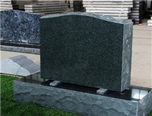 Chinese Forest Green Granite for Headstones