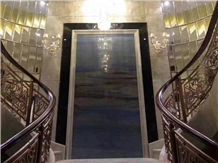 Feature Wall Luxury Stone Slabs for Hotel
