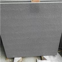 Flamed China Black Sandstone Walling Covering Tile