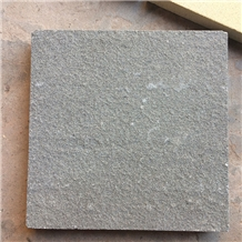 Flamed China Natural Black Sandstone Slabs Tiles