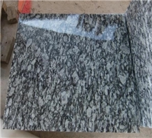 G418 Xinyi Wave Flower White Granite Polished Tile