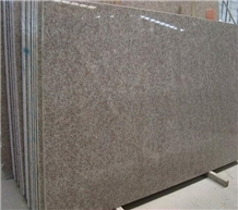 G611 China Almond Pink Granite Slabs for Flooring