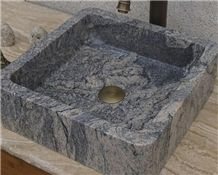 Granite Stone Rectangle Basins for Hotels