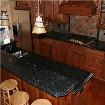 Green Pearl Norway Granite Kitchen Countertop