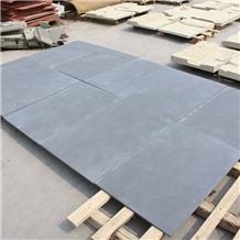 Honed China Sichuan Black Sandstone Flooring Tile