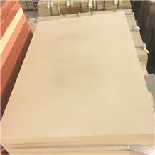 Honed Natural China Beige Sandstone Slabs Tiles