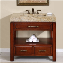 India Cachmere Gold Granite Polished Vanity Countertop