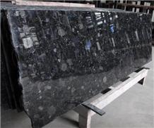 India Labrador Antique Blue Granite Polished Slabs