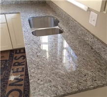 India Morning Mist Granite Polished Countertops