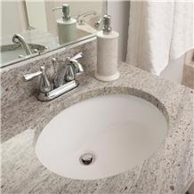 Kashmir White Granite Countertop for Bathroom