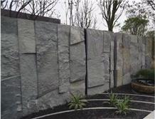 Landscaping Stone Dark Gray Natural Surface Stone