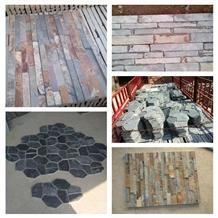Natural Slate Ledge Stone Veneer