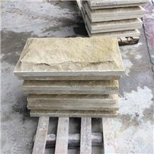 Natural Surface China Beige Sandstone Walling Tile