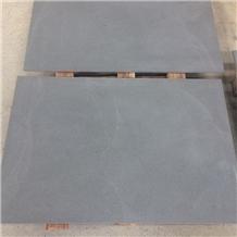 Outdoor Flamed China Black Sandstone Floor Tiles
