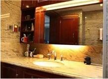 Philippines Apollo Marble Polished Bathroom Vanity