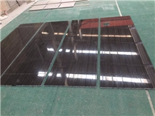 Polished Black Armani Marble Kitchen Wall Tiles