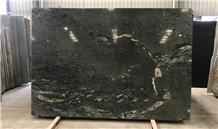 Polished Chinese Titanium Granite Slabs