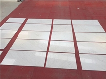 Polished Greek Ariston V White Marble Walling Tile