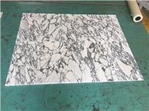 Polished Italy Arabescato Arni Marble Floor Tiles