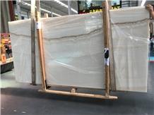 Polished Translucent Turkey Agri White Onyx Slabs