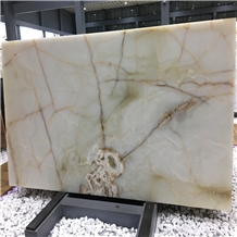Polished Turkey Usak White Onyx Stone Slabs