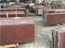 Royal Imperial Red Granite Polished Slabs & Tiles