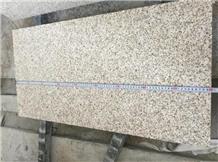 Shandong Rust Golden Sesame Granite Flooring Tiles