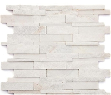 White Slate Cultured Stone Building Wall Cladding