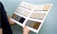 Cardboard Sample Book Stone Tile Sample Brochure