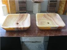 Tropical Onyx Wash Basins