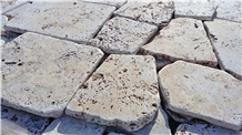 Ivory Travertine Flagstone
