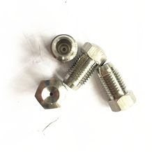 Waterjet Parts Nozzle Of Rust Removal