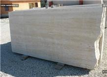 Tivoli Travertino Bianco Vein Cut Slabs